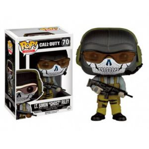 "Jeux Vidéo  Lt. Simon ""Ghost"" - Call Of Duty (10cm) - Funko POP!"
