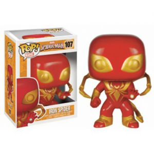 Dessins animés Iron Spider - Marvel (10cm) - Funko POP!