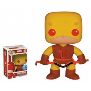 Dessins animés Yellow Dardevil - Marvel (10cm) - Funko POP!