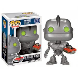Films  Iront Giant with Car (10cm) - Funko POP!