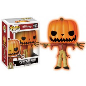 "Films  Pumpkin King ""Glow in the Dark"" - Nightmare Before Christmas (10cm) - Funko POP!"