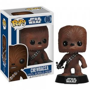 Films  Chewbacca Bobble Head - Star Wars (10cm) - Funko POP!