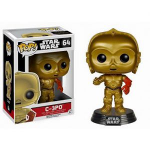 Films  C-3PO - Star Wars VII The Force Awakens (10cm) - Funko POP