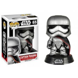 Films  Captain Phasma - Star Wars VII The Force Awakens (10cm) - Funko POP