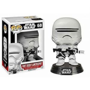 Films First Order Flametrooper - Star Wars VII The Force Awakens (10cm) - Funko POP