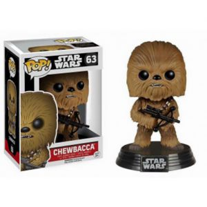 Films  Chewbacca - Star Wars VII The Force Awakens (10cm) - Funko POP