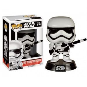 Films  First Order Snowtrooper with Blaster - Star Wars VII The Force Awakens (10cm) - Funko POP
