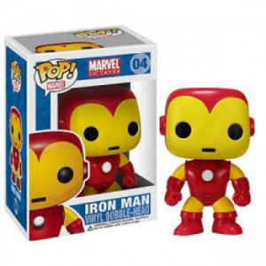 Dessins animés Iron Man - Marvel (10cm) - Funko POP