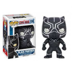 Films  Black Panther - Captain America 3 : Civil War (10cm) - Funko POP
