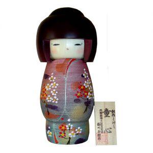 Kokeshi Jeunes filles (+ de 14 cm)  Heart