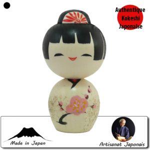 Kokeshi Jeunes filles  Mini Ume (9cm)
