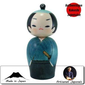Kokeshi Guerriers  Samurai (12cm)