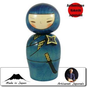 Kokeshi Guerriers  Ninja (13cm)