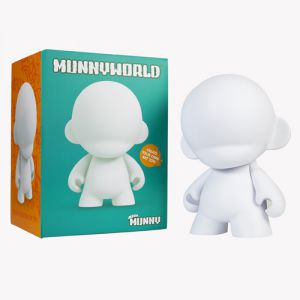 Munny World Mega Munny Blanc (45cm)