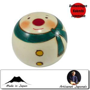 Kokeshi Noel  Mini Snowman Ll (7cm)