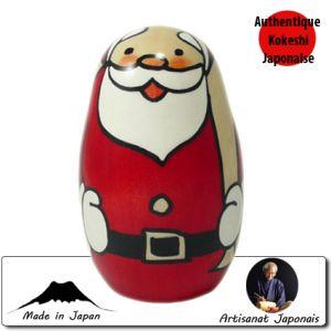 Kokeshi Noel  Happy Santa S (10cm)