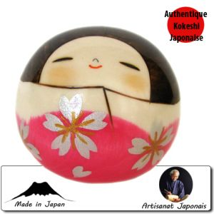 Kokeshi Ovales  Hanayama (6cm)