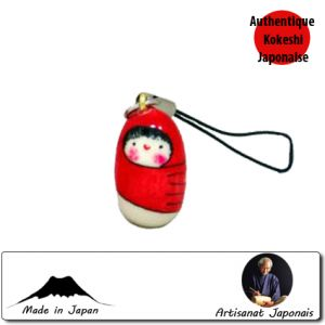 Kokeshi Straps Strap Red Baby