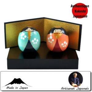 Kokeshi Couples  Hina Set Ss (4cm)